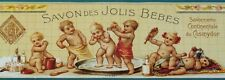 Old French Advertisement / Bathroom  / Bath Products / home decor / Paris, art