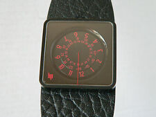 NEW LIP French design Mythic black JUMP HOUR dial automatic PVD dressing watch