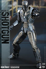 "12"" Item 902494 Iron Man Mark XL Shotgun Hot Toys Sideshow Sixth Scale Figure"