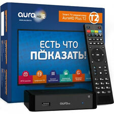 AURA HD Plus IPTV T2 Box DVB-T2 DVB-C Media Streaming Player KARTINA TV MAG 275