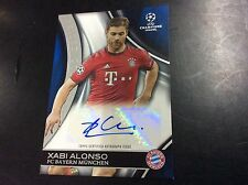 2016 Topps UEFA Champions Xabi Alonso Prized Collection Auto Autograph 13/50 SP