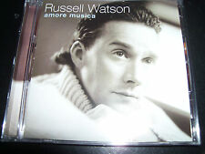 Russell Watson Amore Musica (Australia) Classical Vocal CD