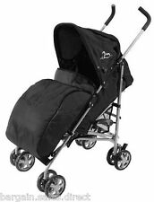 UNIVERAL FIT BLACK PRAM COSY STROLLER BUGGY PUSH CHAIR FOOT MUFF WARMER COVER