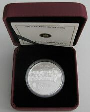 2012 Proof $5 25th Anniversary Rick Hansen Man-in-Motion Tour Canada .9999 silve