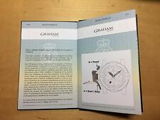 GRAHAM Chronofighter Oversize Diver-Date - Passport with Operating Instructions