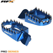New  RFX Pro Series CNC Footrests Footpegs BLUE HUSABERG TC TE 125 TO 300  11-14