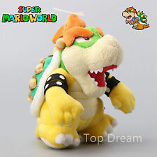 New Super Mario Bros. Plush Bowser Koopa Soft Toy Stuffed Animal Teddy Doll 8""