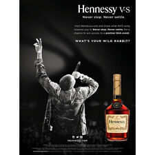 "NAS ""WILD RABBIT"" HENNESSY  POSTER  18 BY 27"