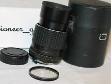 PENTAX SMC 135mm 1:3.5 for pentax 35mm slr K MOUNT LENS