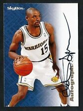 1996-97 Skybox Premium Autographics #LASP Latrell Sprewell Golden State Warriors