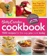 Betty Crocker Cookbook: 1500 Recipes for the Way You Cook Today Factory Sealed