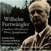 Symphonies Nos. 1, 3 and 9 (Furtwangler) CD NEW