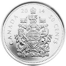 2014 RCM Logo Half Dollar 50¢ Fifty Cent Canada BU Coin Royal Canadian LOT of 10
