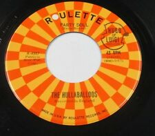 "HULLABALLOOS I'm Gonna Love You Too/Party Doll 45 7"" US BUDDY HOLLY COVER LISTEN"
