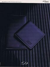 PUBLICITE ADVERTISING 054 1979 TH.DUPONT portefeuille  en cuir