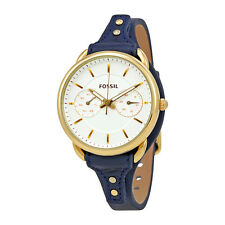 Fossil Tailor Multi-Function Gold Dial Ladies Watch ES4051