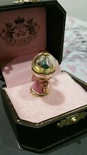 Juicy Couture PINK BUBBLE GUM MACHINE Charm NIB 2008 Tagged