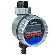 LCD Ball Valve Automatic Electronic Water Timer Garden Irrigation Controller