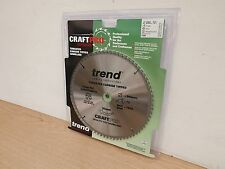 TREND 260MM X 30MM BORE 72T TCT TABLE MITRE SAW BLADE CSB/CC26072