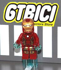 LEGO SUPER HEROES MARVEL MINIFIGURA  ``IRON MAN MK43´´  Ref 76032  ORIGINAL LEGO