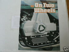 ON TWO WHEELS 46 VAN VEEN OCR 1000 WANKEL,EVEL KNIEVEL,KREIDLER,KTM BIKES