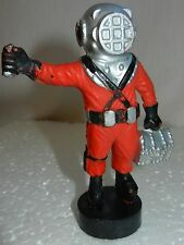 1980s! VINTAGE Russian Soviet USSR plastic toy doll Diver plastic Astronaut old