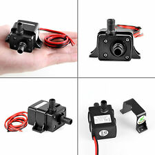Mini DC12V 3m 240L/H Brushless Motor Submersible Water Pump Home Fish Pond AO