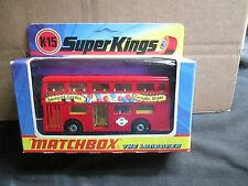 MATCHBOX SUPERKINGS K-15 THE LONDONER BUS BOXED