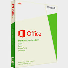 Office 2013 Home and Student 32/64 bit versione completa familypack compri 3 Keys +