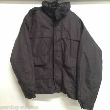 Men's Winter Parka Jacket Coat L BROWN SPIEWAK EMS Police Fire Weathertech NYC