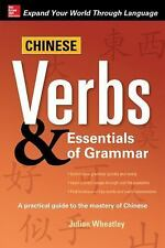 Chinese Verbs and Essentials of Grammar by Julian Wheatley (2014, Paperback)