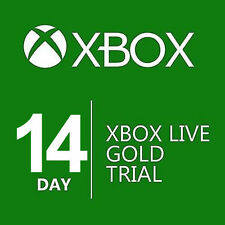 XBOX LIVE 14 DAY (2 WEEKS) GOLD TRIAL MEMBERSHIP INSTANT DISPATCH