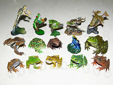 YUJIN The Frogs In Colour figure Collection (Full Set of 15 figures with secret)