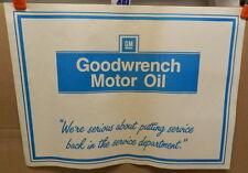 CHEVELLE GOODWRENCH OIL SIGN CAMARO GM VETTE NOVA TRUCK CHEVY DEALER FLOOR MATS