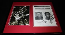 Norm Van Lier Signed Framed 16x20 Photo Set Bulls