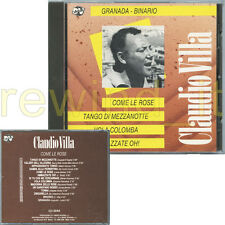 "CLAUDIO VILLA ""COME LE ROSE"" RARO CD 1991"