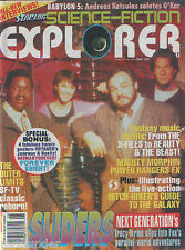 Starlog Sci-Fi Explorer # 7 Sliders Outer Limits Hitch-Hikers Power Rangers