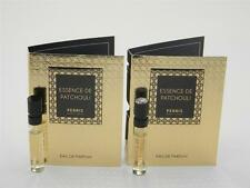 2 X Perris Monte Carlo Essence de Patchouli EDP Vial Sample SPRAY 2ml 0.06oz