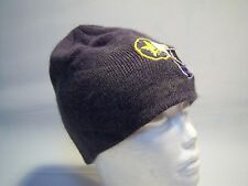 Vintage Casual Knit Beanie Hat Men's One Size