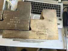 Lot of 3 Mechanical Lug CAT#500MCM-2 CMC PV2-500 CU9AL QUANITY OF (3)