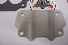 """Fits GTO Tri Power Large Rochester 2GC Carburetor Intake Block Off Plate 062"""""""