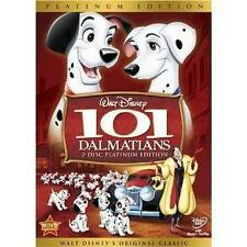 101 Dalmations Walt Disney 2-Disc Platinum Edition Original Classic