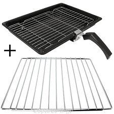 Grill Pan + Handle + Rack + Adjustable Extendable Shelf for ZANUSSI Oven Cooker