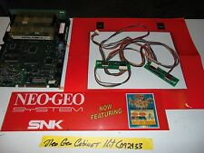 NEO GEO CABINET KIT **** TESTED AND WORKING *** E