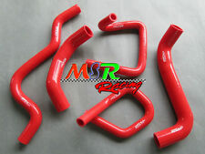 for Ford Falcon BA BF XR6 Turbo silicone radiator hose kit brand new RED