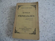 1898.Autels privilégiés.Robert de Montesquiou