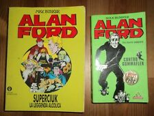 ALAN FORD: lotto 2 volumi mondadori - Gommaflex & Superciuk