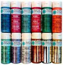 Martha Stewart Crafts Multi-Surface Satin Acrylic Craft Paint Set 2-Ounce, and