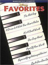 Disney Favorites. Sheet Music for Piano, Voice, Very Good,  Book