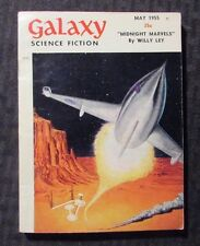 1955 May GALAXY Science Fiction Digest Magazine FN- 5.5 Willy Ley